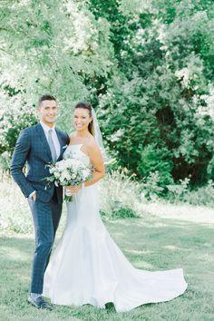 Cristen & Mick's Wedding at was absolutely stunning! Rose Wedding, Summer Wedding, Laura Rose, Elegant Couple, Its A Mans World, My Favorite Image, New York Wedding, Outdoor Ceremony, Romantic Weddings