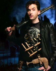 David Tennant as a vampire hunter?  What's not to like?
