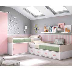 ΚΡΕΒΑΤΙΑ->Παιδικά κρεβάτια->Κρεβάτι παιδικό σετ 09 - www.maisonplus.gr