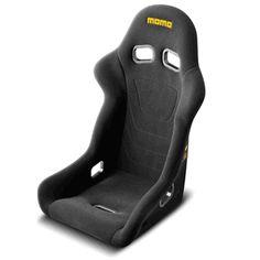 MOMO 2012 Start Black Race Seat - New FIA Homologation