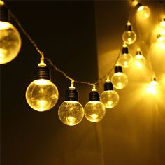 Cheap lamp adapter, Buy Quality decorative hanging lamp directly from China lamp music Suppliers: EU Plug Globe Patio 20 LED String Light Led Outdoor Clear Bulb Multicolor Chirstmas Wedding Party Decor Fairy Lamp