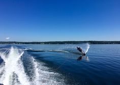 Ripping it up on the Penobscot Bay.