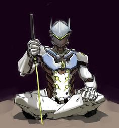 Genji by ema94.deviantart.com on @DeviantArt