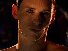 "Eddie Redmayne in the upcoming movie ""Jupiter Ascending"""