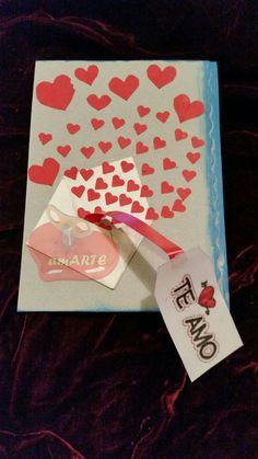 Tarjeta sorpresa  de San Valentin