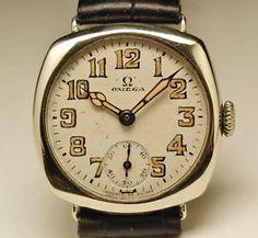 Ancienne Montre OMEGA .cal 26.5 SOB 1920 vintage watch  | eBay