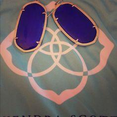 Kendra Scott Danielle Earrings Kendra Scott Danielle earrings in Cobalt Kendra Scott Jewelry Earrings