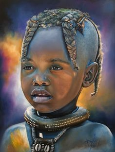 Pin by nancy davis on art - children in 2019 рисунки, африка African Artwork, African Paintings, Portraits Pastel, Black Love Art, African Children, African American Artist, Africa Art, Black Artwork, Baby Art