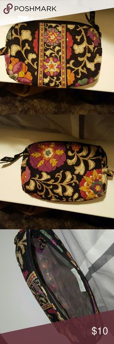 Vera Bradley Small Bag Small cosmetic bag by Vera Bradley. Zips. It's an old style. Vera Bradley Bags Cosmetic Bags & Cases