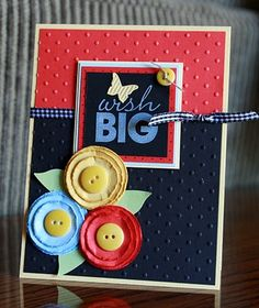 #papercrafting #card Stampin' Up! Card   by Krystal De Leeuw at Krystal's Cards and More: 2010