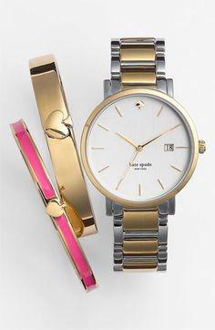 Women's kate spade new york 'gramercy' bracelet watch