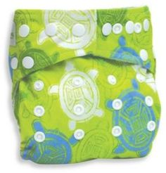 Bumkins®️ Snap-In-One Cloth Diaper in Turtle