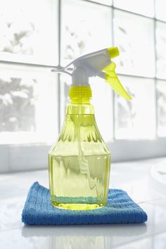 Make an easy, all-purpose cleaner: Here's the cleaner recipe that will make nearly every surface gleam (especially kitchen counters, appliances, and inside the refrigerator). Combine 4 tablespoons baking soda and 1 quart warm water, and use it with a sponge to wipe messes away.