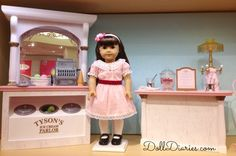 American Girl BeForever Samantha Debut Photos | Doll Diaries