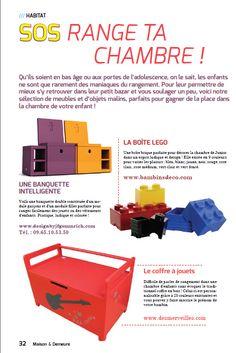 desMerveilles dans Maisons & Demeures avec le coffre à jouets de Côté Guinguette