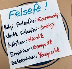 YKS Felsefe Notları School Notes, Darwin, Bad Boys, Medical, Study, Education, Life, Reading, School Grades