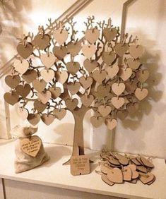 Gästebuch Hochzeit Ideen – Herzbaum