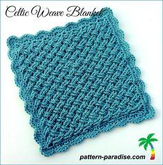 Celtic Weave Blanket free pattern