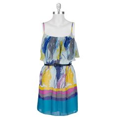 funky dress & on sale at Von Maur.