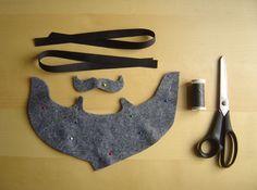 How to make a felt beard - Mollie Makes Lumberjack Costume, Lumberjack Beard, Dog Costumes For Kids, Diy Dog Costumes, Minion Costumes, Costume Ideas, Halloween Costumes, Biblical Costumes, Costumes