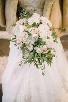 Elegant Washington DC Wedding at The Willard - floral design: Loda Floral Design; bridal bouquet