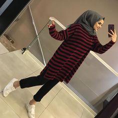 Niqab Fashion, Modern Hijab Fashion, Muslim Fashion, Modest Fashion, Fashion Outfits, Hijab Style Dress, Casual Hijab Outfit, Hijab Chic, Casual Dresses