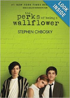 """The Perks of Being a Wallflower, Stephen Chbosky. Really enjoyed this one. Set up in letter format throughout from the """"wallflower's"""" pov, Charlie. Lots of drugs, smoking & other teen hazards. But a great read, lots of deep thinking. Logan Lerman, Good Books, Books To Read, My Books, Amazing Books, Yasmine Galenorn, Little Dorrit, Movies And Series, The Rocky Horror Picture Show"""