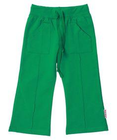 Baba Babywear funky groene stretch broek met zakken. baba-babywear.nl.emilea.be