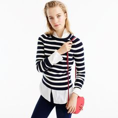 Striped Holly Sweater : Women's Sweaters | J.Crew