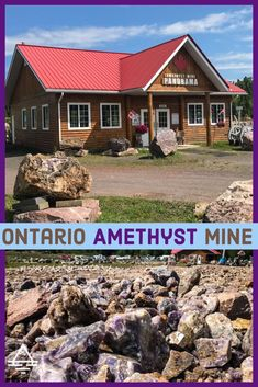 The Amethyst Mine Panorama near Thunder Bay, Ontario, Canada is a fun and family friendly attraction! Thunder Bay Amethyst Mine - TRIPS TIPS and TEES Alberta Canada, Canada Ontario, Ottawa, Quebec, Places To Travel, Places To Visit, Best Beaches To Visit, Vancouver, Canada North