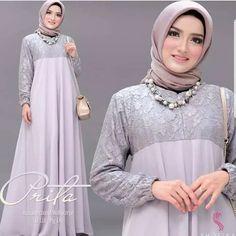 Prita by Shofiya. Casual Hijab Outfit, Hijab Dress, Muslim Long Dress, Kebaya Muslim, Blazer Pattern, Mocca, Videos Online, Abaya Fashion, Designer Dresses