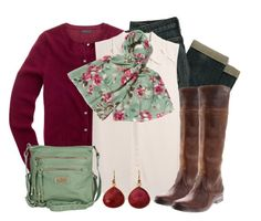 River Island Green & Raspberry by qtpiekelso on Polyvore featuring J.Crew, River Island and EAST