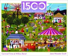 Carnival Time at Willow Bend by Jane Wooster Scott
