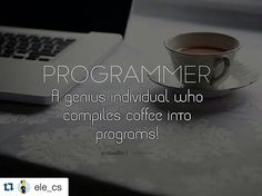 regram @worldofprogrammers #Repost @ele_cs awesome quote! Follow @woplearncode  @Regrann from @importdevelopers -  Sweet  regram @iptidasaffat Programmer !  #programmer #program #programming #programmers #computer #bug #microsoft #java #JavaScript #python #PHP #sql #developer #html #css #data #laptop #instagramers #geek #nerd #coffee #caffeine #windows #code #coding #apple #linux #pc #iptidaquotes by ofelix03