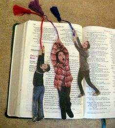 Charles Dowd - Google+ - DIY your own Bookmark by using your kids photo. >>>…