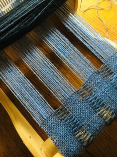 Light as a Feather Crammed & Spaced Scarf PDF Pattern for Rigid Heddle Loom - weaving patterns Weaving Textiles, Weaving Art, Loom Weaving, Tapestry Weaving, Hand Weaving, Tablet Weaving Patterns, Weaving Designs, Weaving Projects, Art Textile