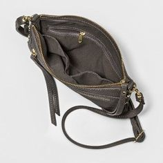 bf78585bb295 Women s Crossbody Handbag - A New Day Gray