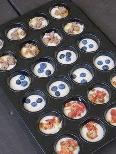 puffins in muffin tin 2