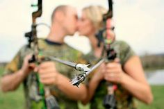 We love bow hunting and each other!