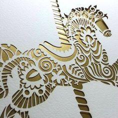 Graviravimas lazeriu Vilniuje | Pjovimas lazeriu.   Laser-cut horse