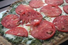 Tomato and Pesto Pizza #SummerFest