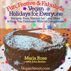 Vegan Holidays for Everyone! New Book by Marla Rose & John Beske :)