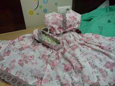 coser es fácil...: vestido y zapatitos....