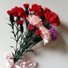 #paper #flowers #crepepaperflower #bouquet