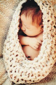 Newborn Knit Nest BaBY PHoTO PRoP Newborn Cocoon by MadAboutColour