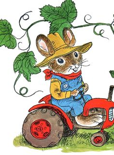 pictures by richard scarry - busy, busy world
