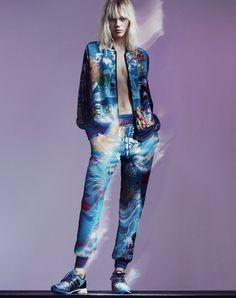 Mary Katrantzou x adidas Originals' sportswear collection | Vogue Paris