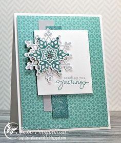 Freshly Made Sketches: Snowflake Greetings (via Bloglovin.com )