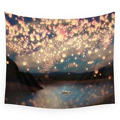 "Society6 Love Wish Lanterns Wall Tapestry Small: 51"" x 60... http://www.amazon.com/dp/B017JW5P6U/ref=cm_sw_r_pi_dp_-Rsixb0NT4GZD"