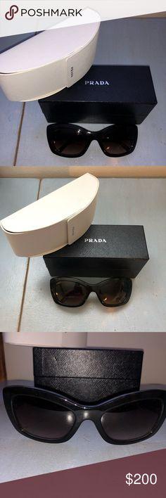 fd58a1db43 Prada Tortoise Cat Eye SPR 19M Sunglasses Prada Tortoise Cat Eye SPR 19M  Sunglasses Brown ombré
